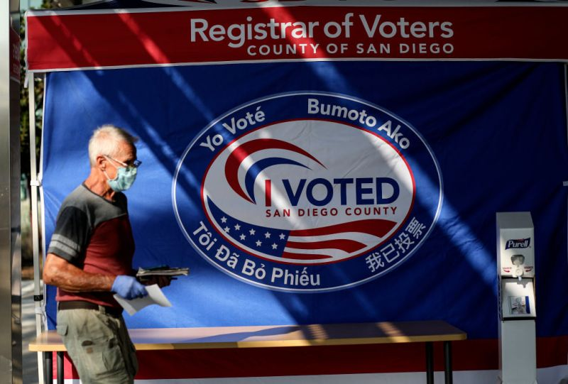 Photos: Election 2020 in San Diego County