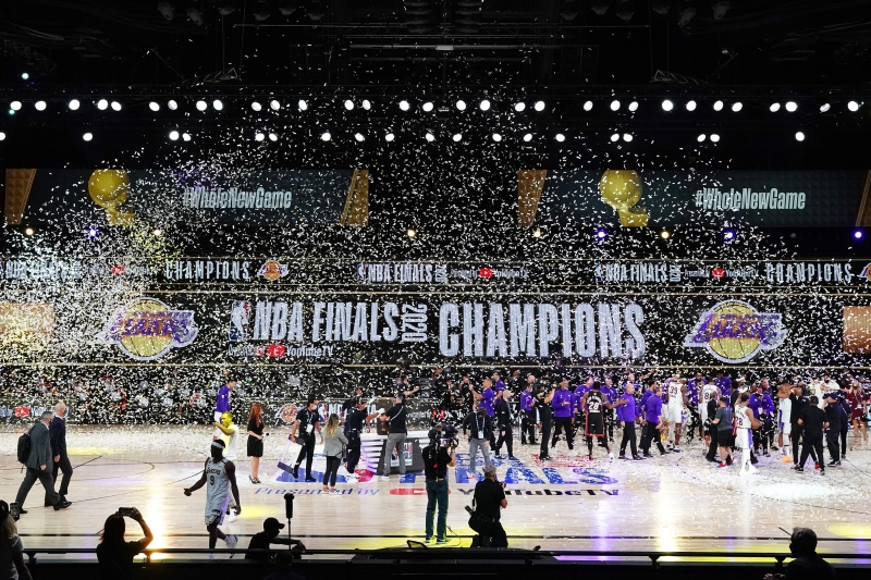 Photos: Lakers Make NBA History With 17th NBA Championship
