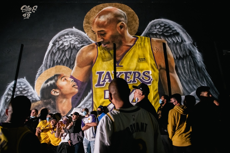 Photos: Scenes From the Streets Outside Staples Center After the Lakers' Historic Win