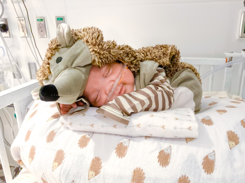 Babies in ICU Dress Up For Halloween at Jacobs Medical Center at UCSD Health