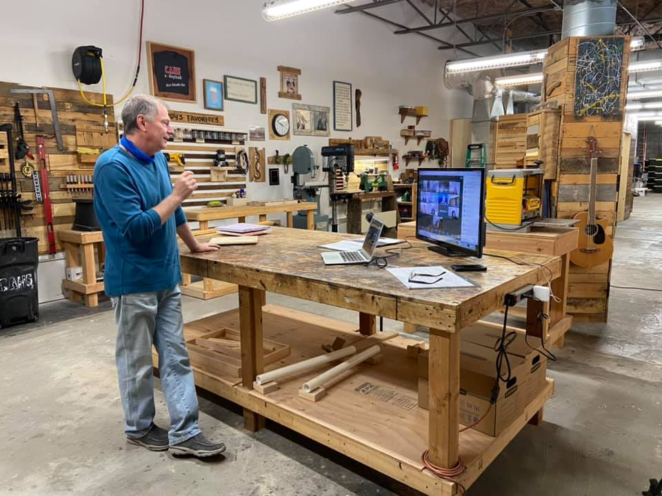 After Struggling With Distance Learning, Escondido Woodshop Teacher Finds Way to Nail It