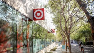 New Target store location on the campus at the University of California San Diego