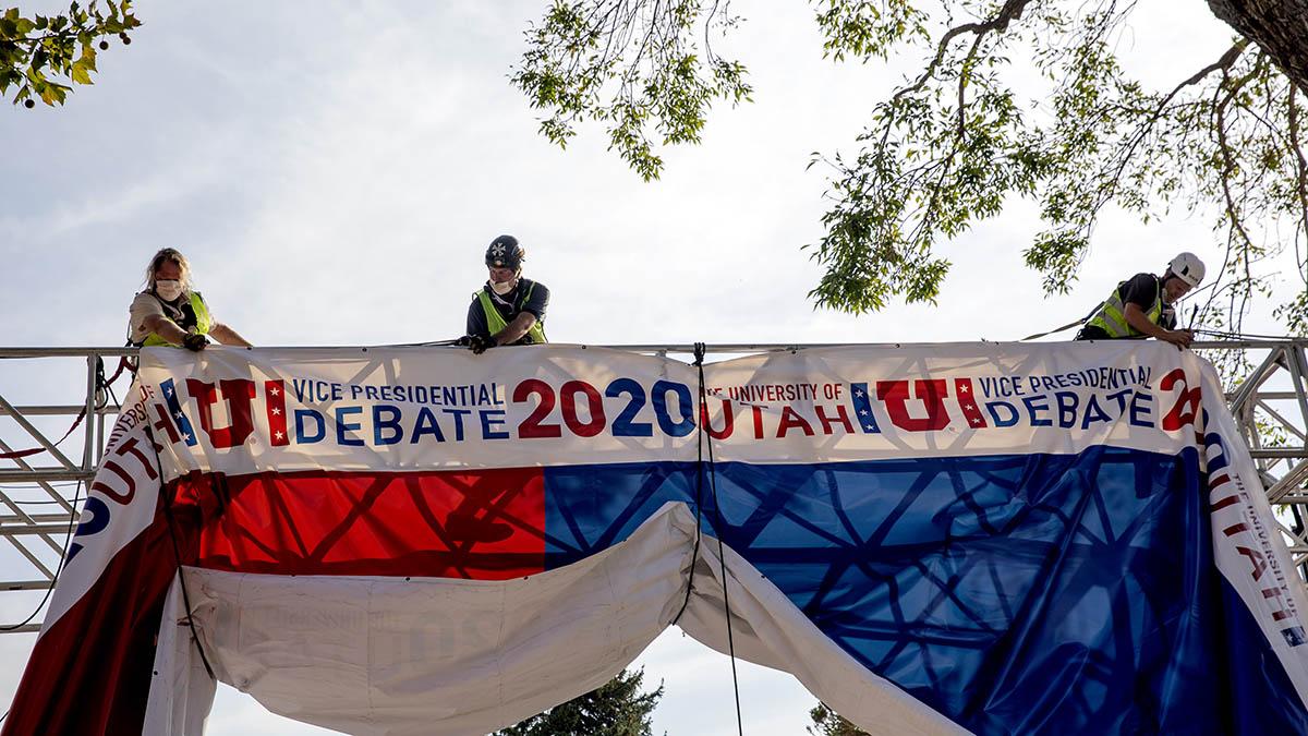 Mike Pence and Kamala Harris VP Debate Will Have Plexiglass Barrier Because of Coronavirus Concerns – NBC 7 San Diego