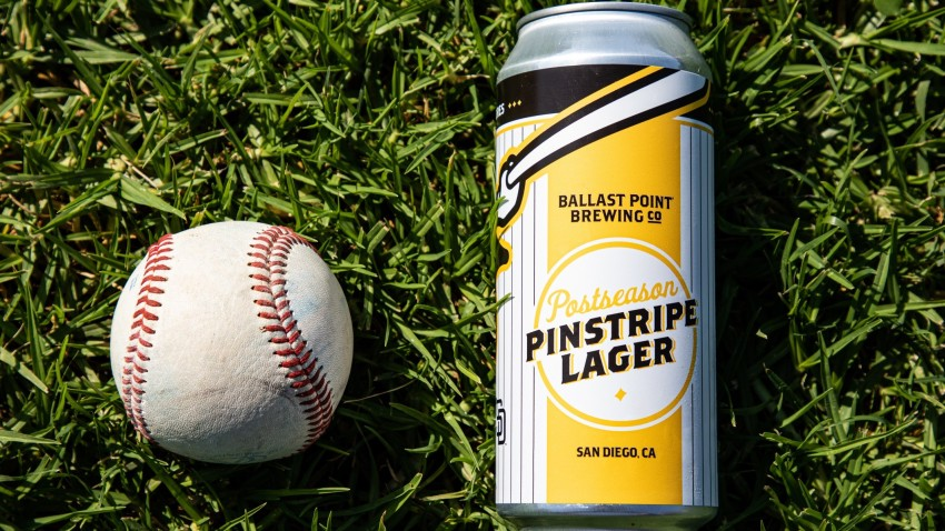 Ballast Point's Pinstripe Lager