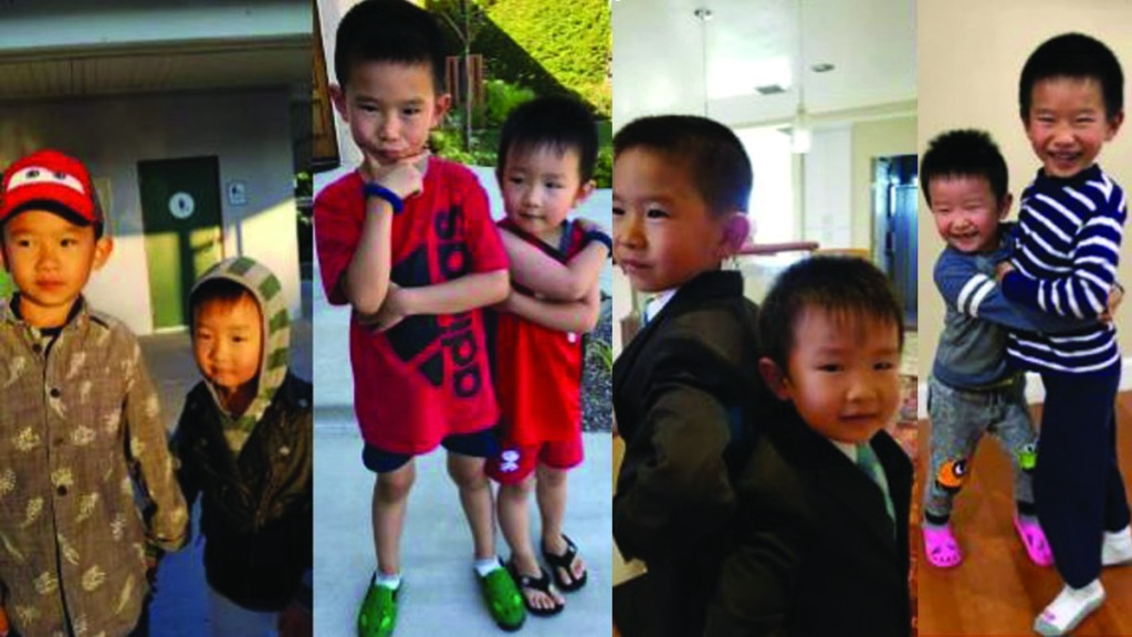 Photos of the Chin children provided by San Diego County Crime Stoppers.
