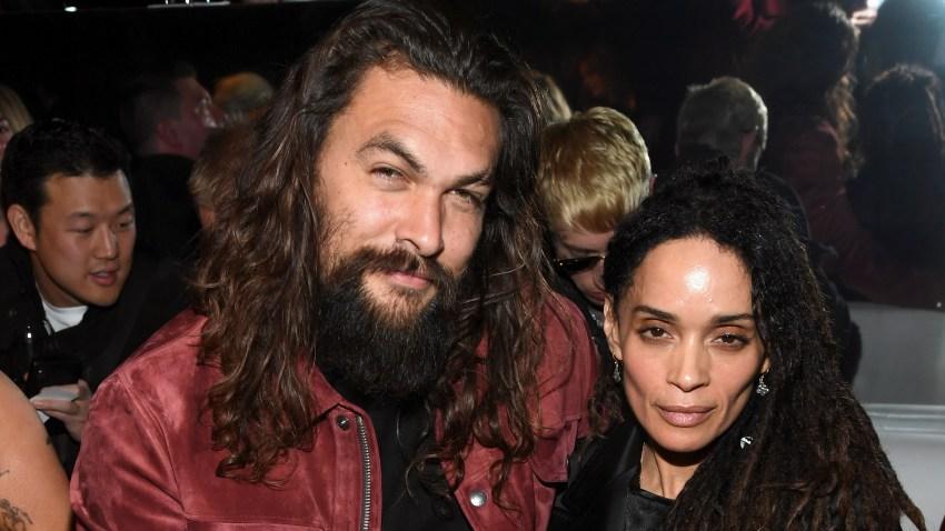 (L-R) Jason Momoa and Lisa Bonet
