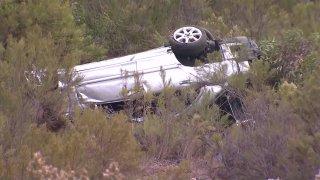 Car rolls over following pursuit near SR-94