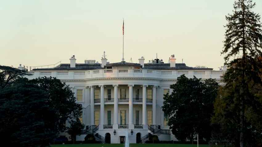 This Nov. 8, 2020, file photo shows the White House in Washington, D.C.