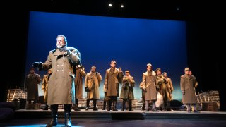 San Diego Opera presents ALL IS CALM: THE CHRISTMAS TRUCE OF 1914. December 7, 8, and 9, 2018.