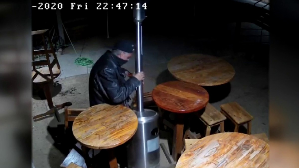 Christmas bandit caught stealing from small business – NBC 7 San Diego