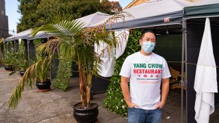 Benny Yun, owner of Yang Chow restaurant