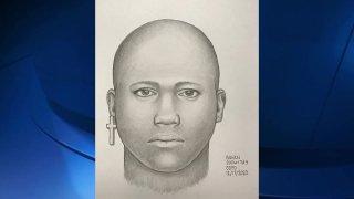 Blacks Beach Assault Suspect Sketch