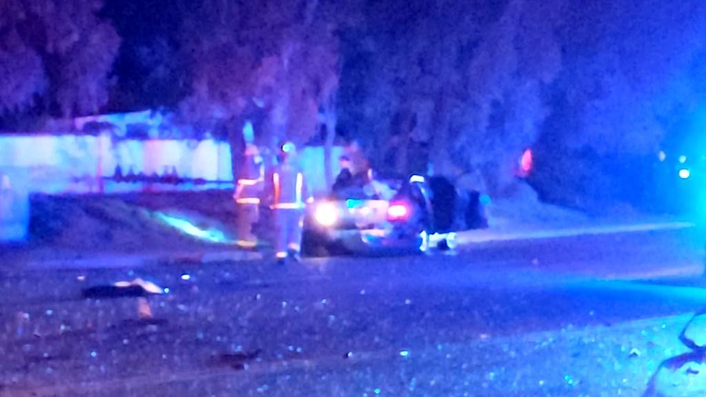 A deadly car crash in Escondido