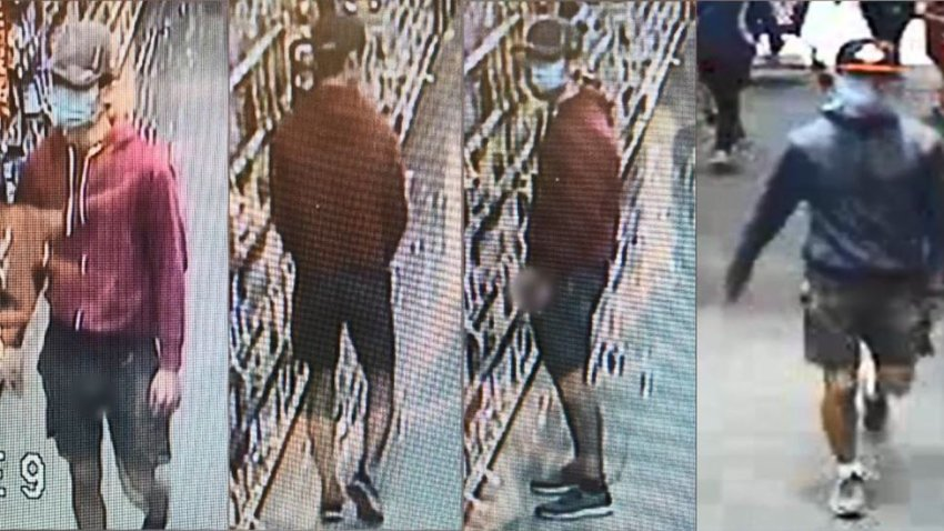 A suspect is being sought in a series of sexual batteries in North County.