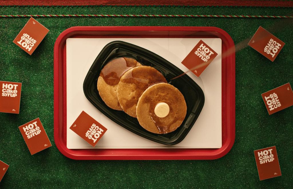 McDonald's holiday hotcakes