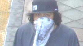 La Mesa bank robbery suspect