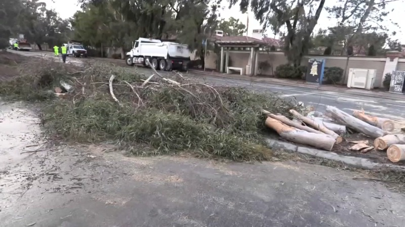 Photos: Winter Storm Causes Damage Around San Diego County