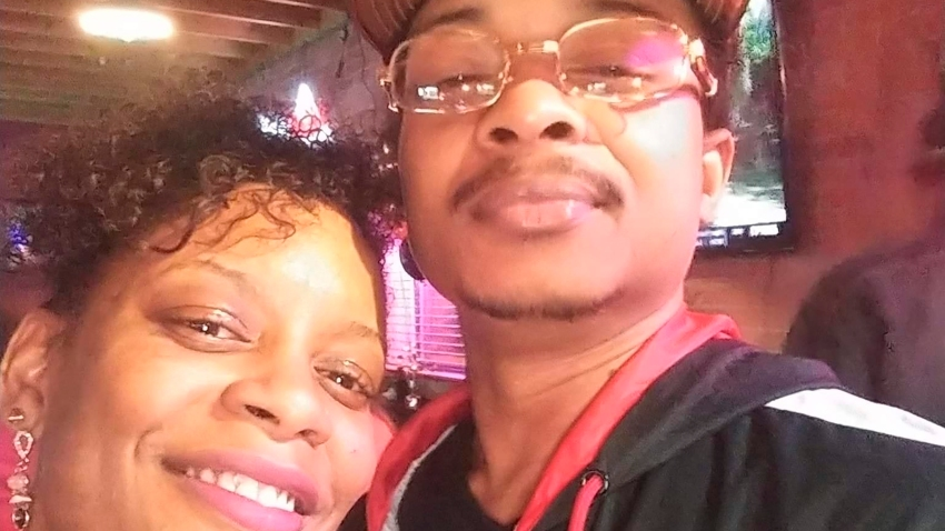 FILE - In this September 2019 file photo taken in Evanston, Ill., and provided by Adria-Joi Watkins, Watkins, left, poses in a selfie with her second cousin Jacob Blake. A police officer shot Blake in the back multiple times after responding to a domestic dispute on Aug. 23, 2020. On Tuesday, Jan. 5, 2021, a Wisconsin prosecutor declined to file criminal charges against the officer who shot Blake.