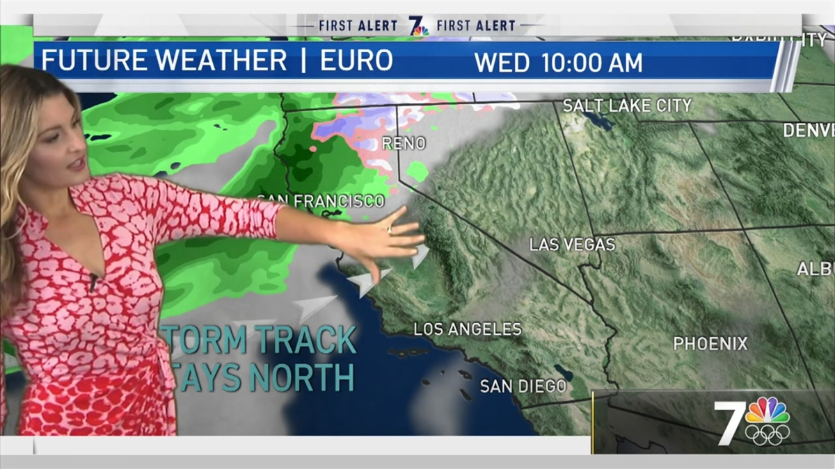 Crystal Egger's Morning Forecast for Jan. 2, 2021 - NBC 7 ...