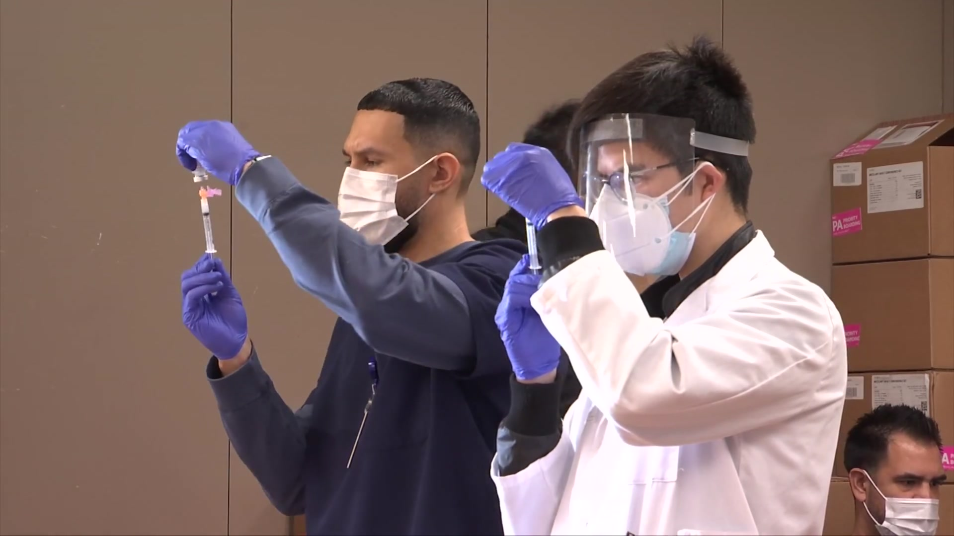 County Opens New 'Vaccination Superstation' in Chula Vista