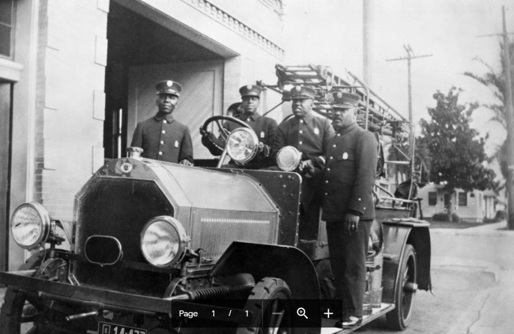 A look at an early fire department in San Diego.