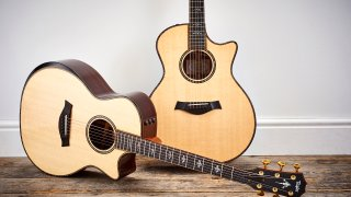 Acoustic And Electric Guitar Product Shoots