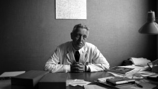 FRANCE - APRIL 25: Jerome Lejeune, Geneticist In France On April 25, 1984.
