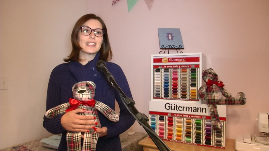 Memory Bears designer Karla Cantero speaks to Telemundo 20 about her business.