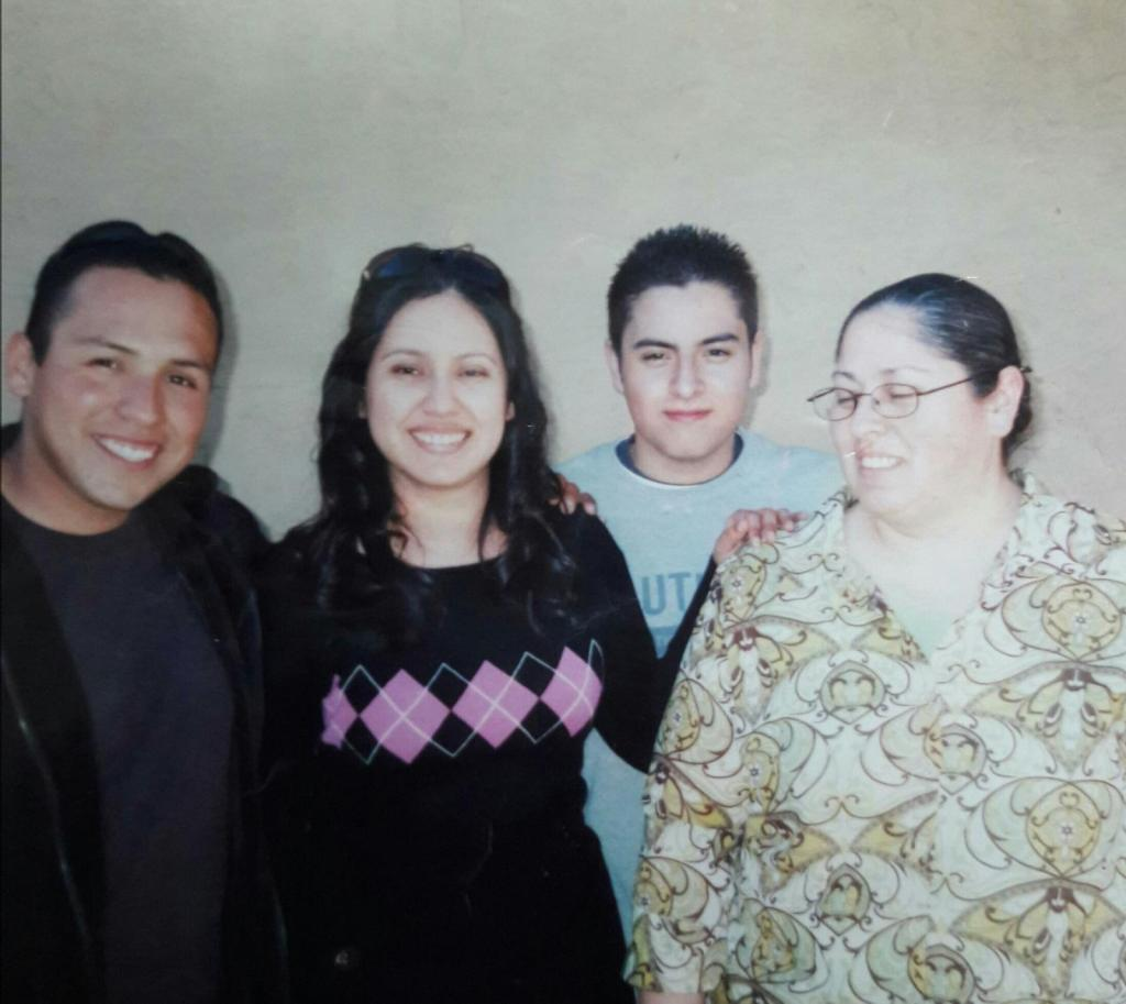 An undated image of Omar Medina and his loved ones.