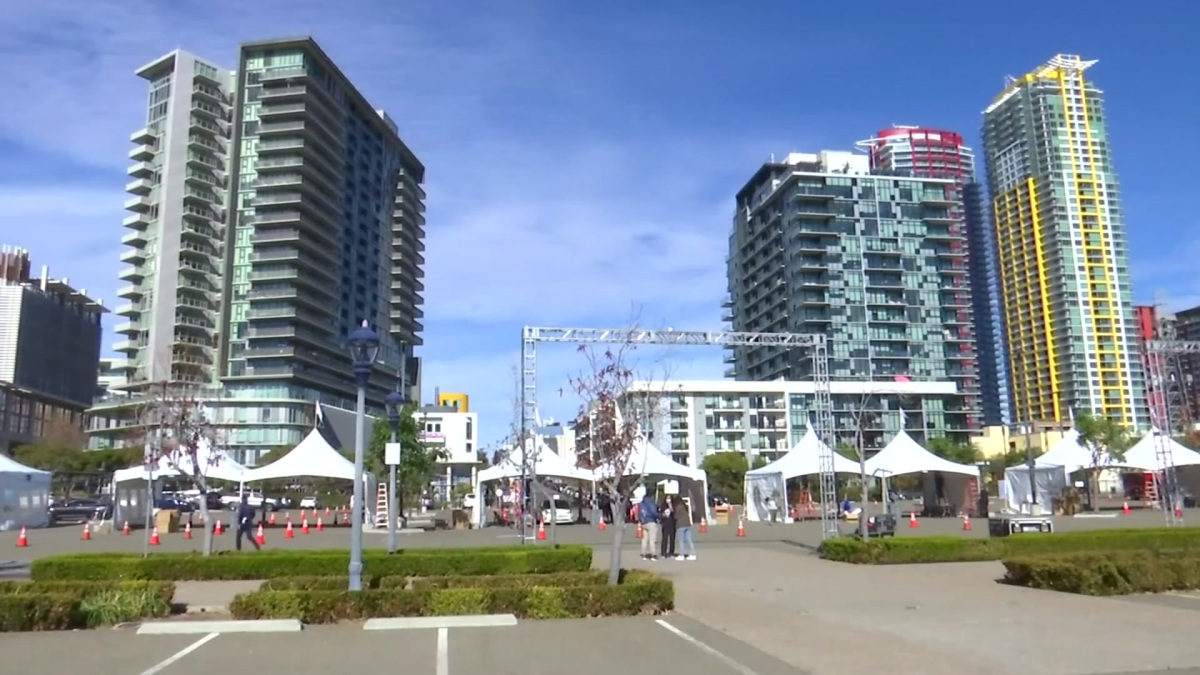 """San Diego County's new """"Vaccination Super Station"""" near downtown's Petco Park was abruptly shut down Wednesday — just two days…"""