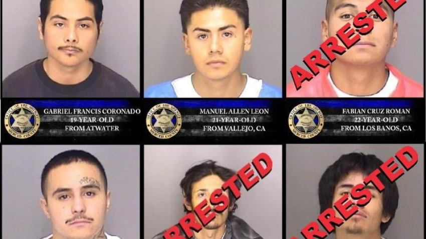 Photos of Merced County jail escapees