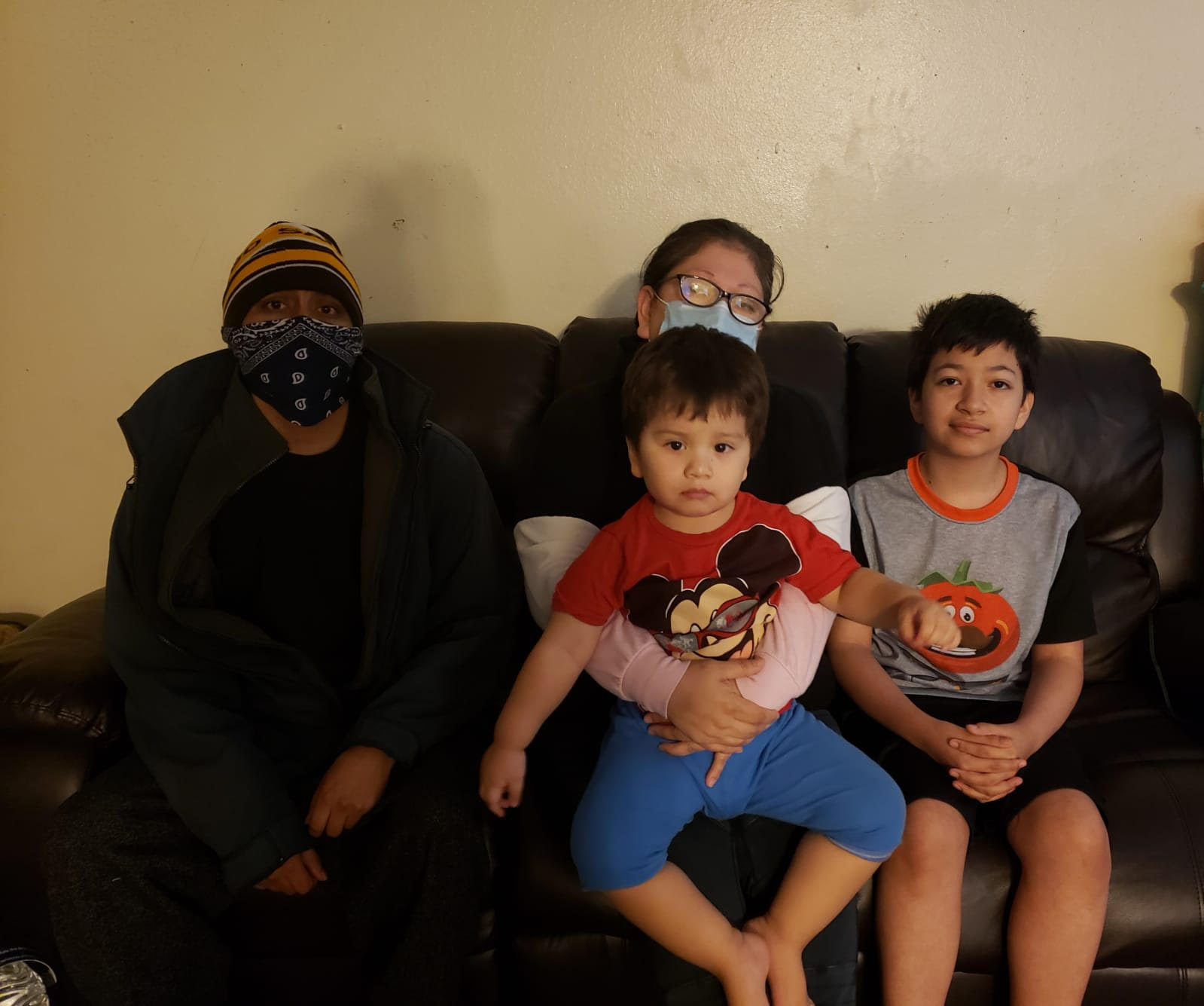 Immigrant Family Contracts COVID-19,  Afraid to Ask For Help