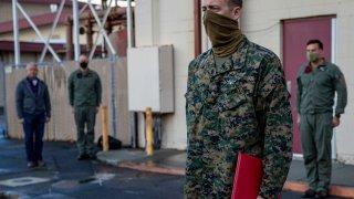U.S. Marine Staff Sgt. Ryan Sharp