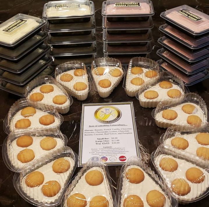 A look at Extraordinary Banana Pudding's catering spread