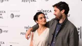 NEW YORK, NEW YORK - MAY 04: Jenny Slate and Ben Shattuck attend the 'Earth Break: A Few Suggestions For Survival, With Additional Hints And Tips About How To Make Yourself More Comfortable During The Alien Apocalypse' screening during the 2019 Tribeca Film Festival at SVA Theater on May 04, 2019 in New York City.