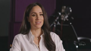 """Framegrab of Meghan, Duchess of Sussex on """"Good Morning America,"""" April 20, 2020."""