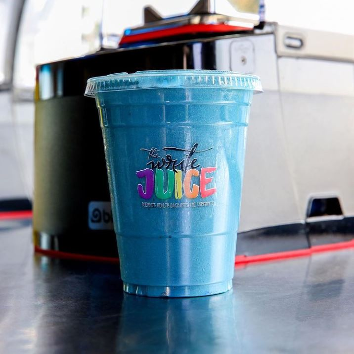 The Write Juice's Ride Your Own Wave beverage.