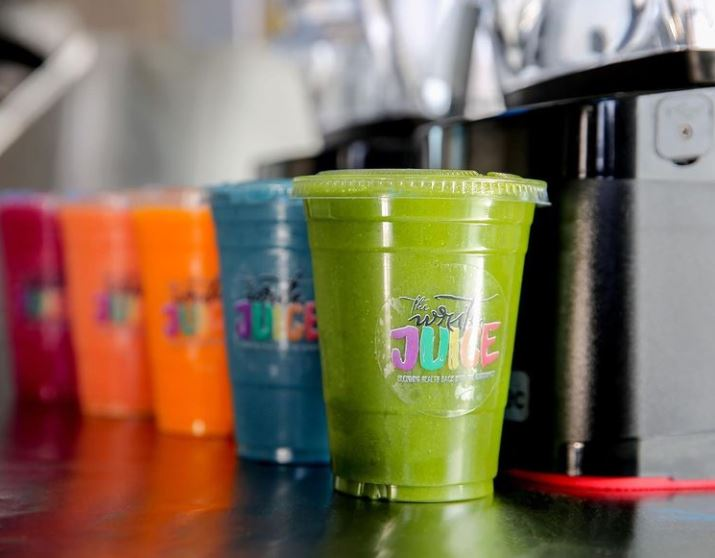 A look at the vibrant and colorful smoothies from The Write Juice.