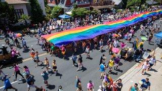 Large Pride flag