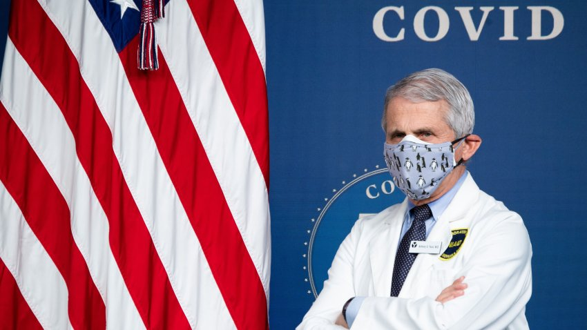 White House Chief Medical Adviser on COVID-19 Dr. Anthony Fauci