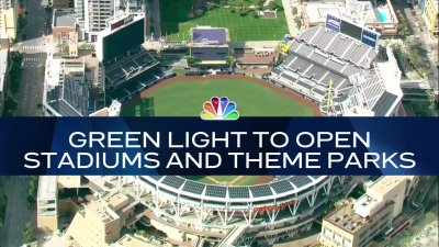 Nightly Check-In: Reopening Amusement Parks and Outdoor Stadiums