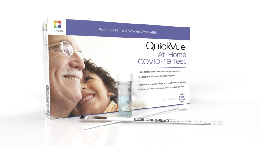 Quidel's QuickVue At-Home COVID-19 Test