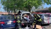 Police Arrest a Man After Car Explosion in Santa Rosa