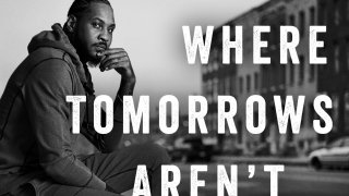 """cover image released by Gallery Books shows """"Where Tomorrows Aren't Promised: A Memoir of Survival and Hope,"""" by Carmelo Anthony"""