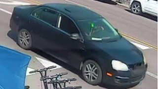 The car involved in the Pacific Beach hate crime on Feb. 28.