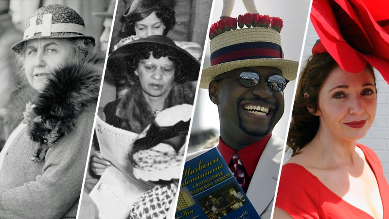 A Timeline of Derby Hats in Pictures