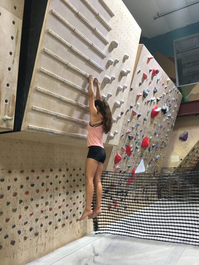 Brooke Raboutou, Olympic rock climber.