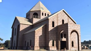 A look at the upcoming new site for the St. John Garabed Armenian Church in Del Mar.
