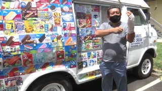 An ice cream vendor was attacked in National City.