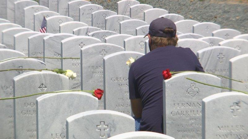 Memorial Day 2021 at Miramar National Cemetery
